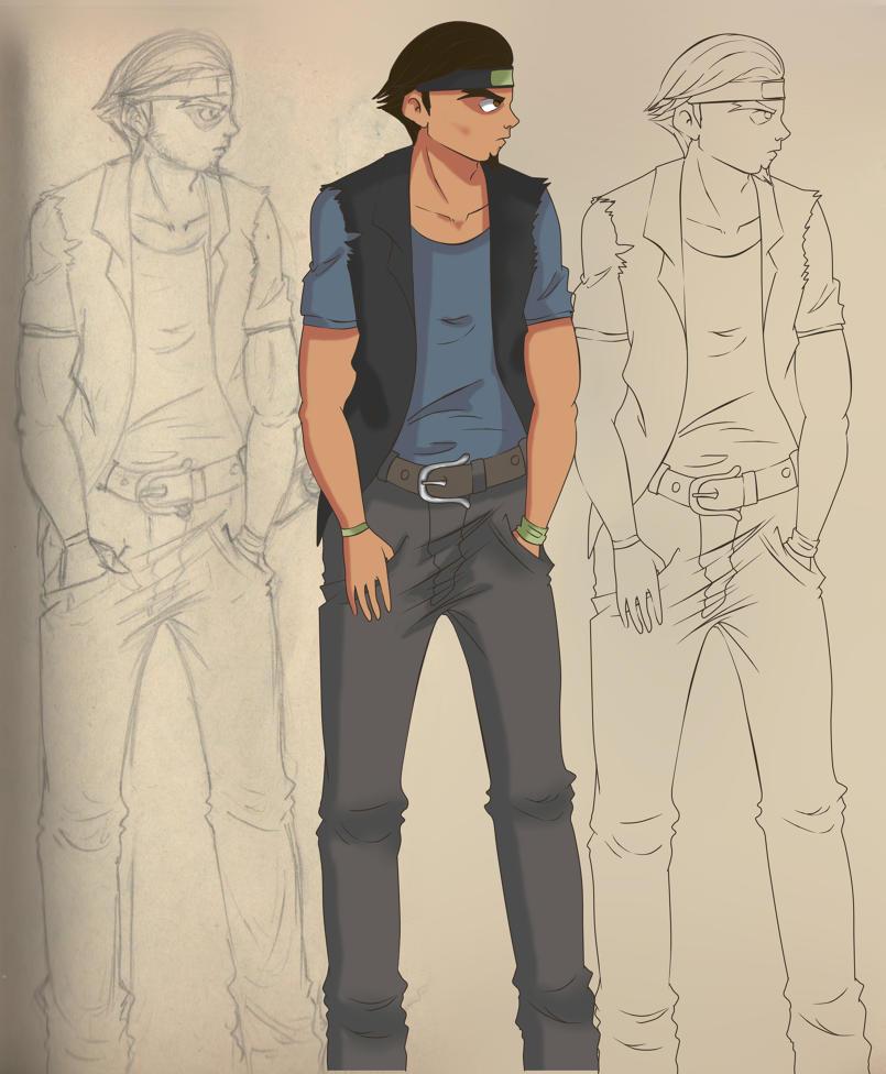 شخصيات من تصميمي