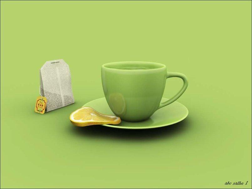 كوب و شاي