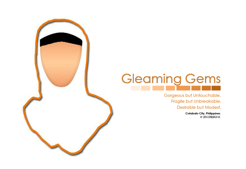 Gleaming Gems Logo  It's the official logo of a Muslim magazine in the Philippines.