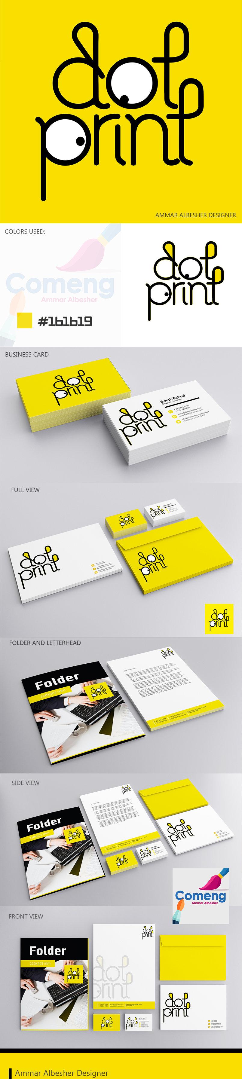 تصميم هوية dot print