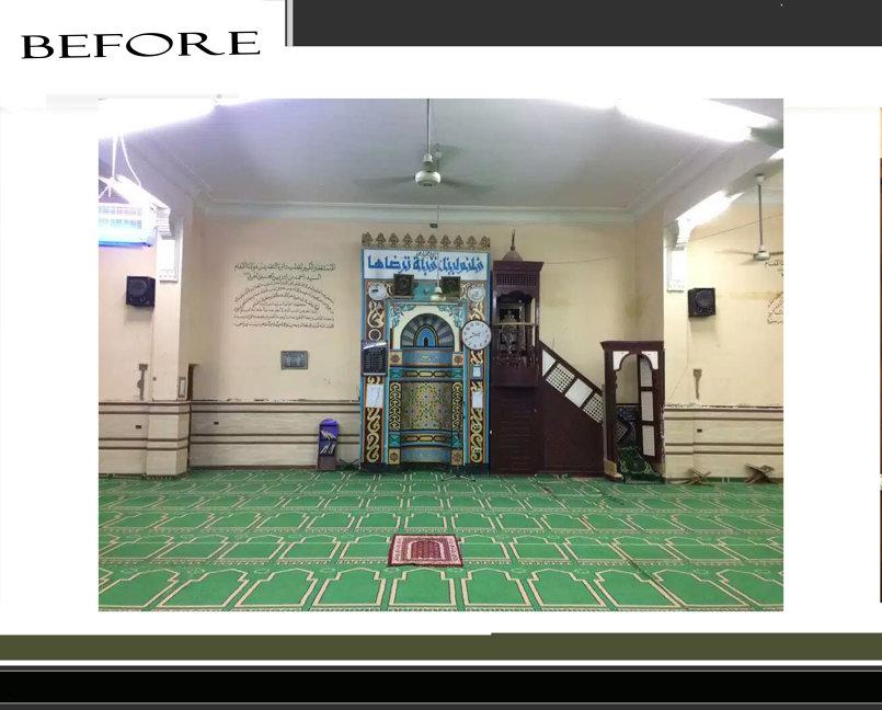 اعاده ترميم مسجد
