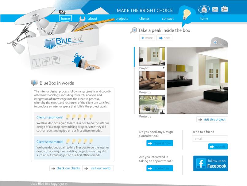 BlueBox Website