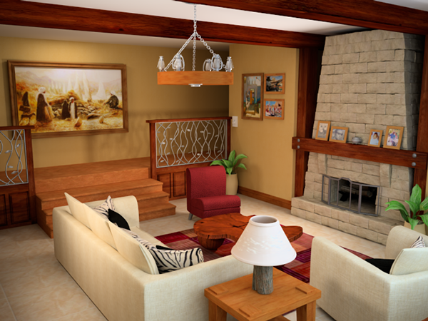 Living Room by Maya