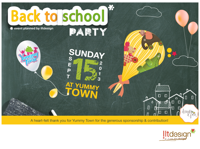 Back to School Party!!
