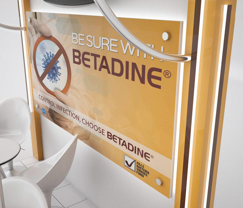 Betadine exhibition Booth