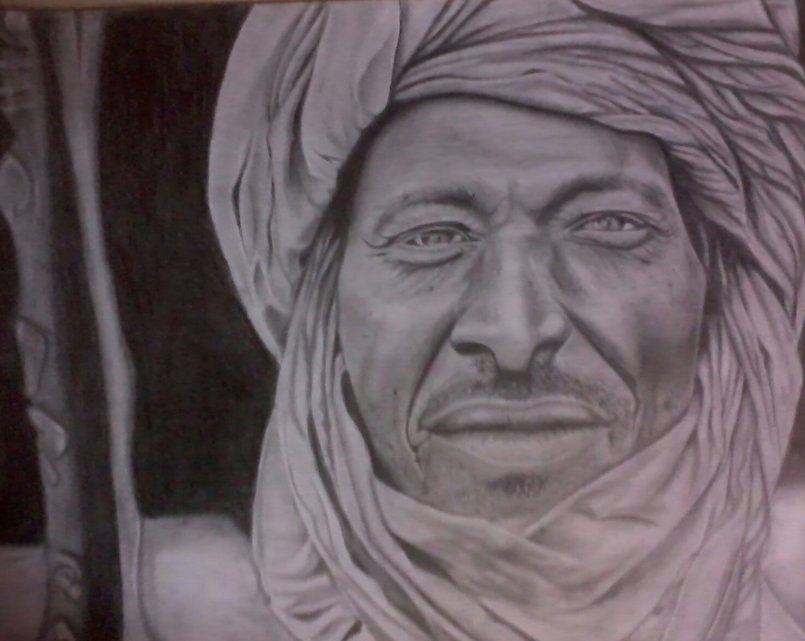 My Pencils and Pastel Drawing