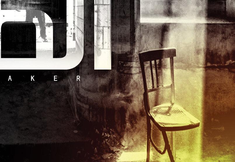 غلاف صانع الظلام - DARK MAKER  - COVER BOOK