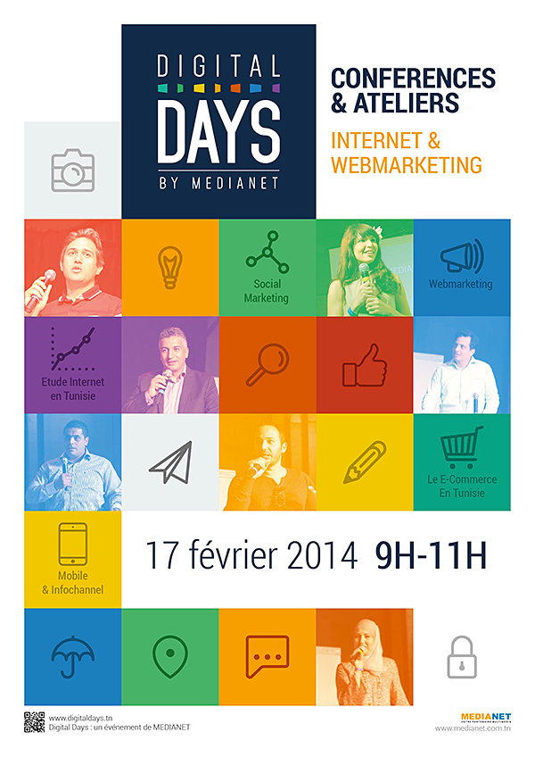 Logotype et affiche digital days