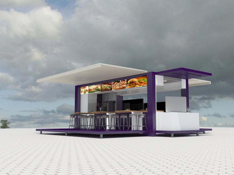 Restaurant Container Design
