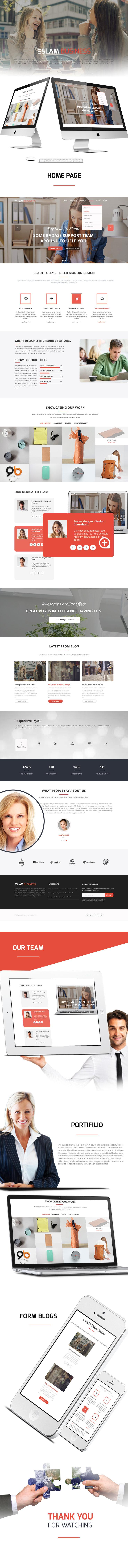 تصميم موقع لشركة افتراضية لإدارة الاعمال