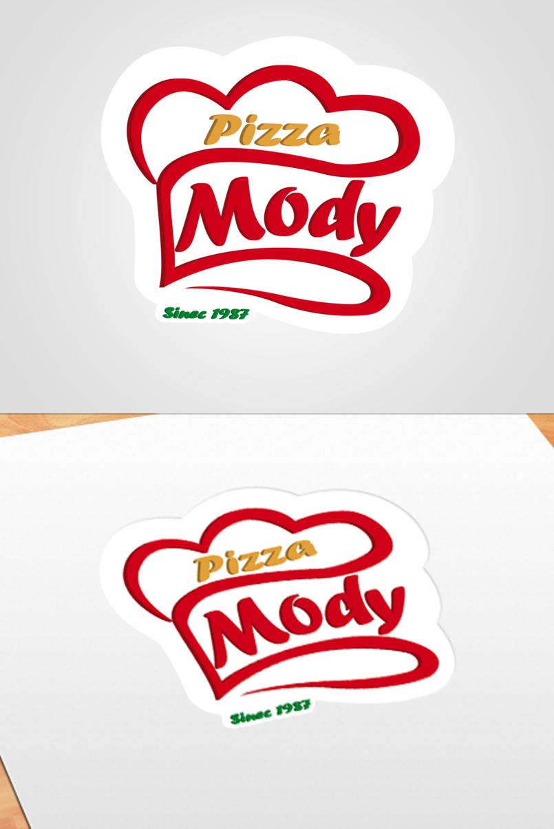 Logo Mody Pizza Restaurant