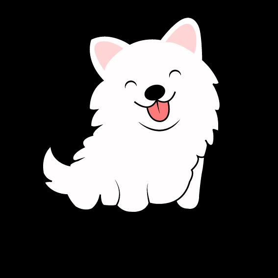 تصميم لوغو لمتجر الكتروني يبيع تيشرتات مختصة بهذا النوع من الكلاب
