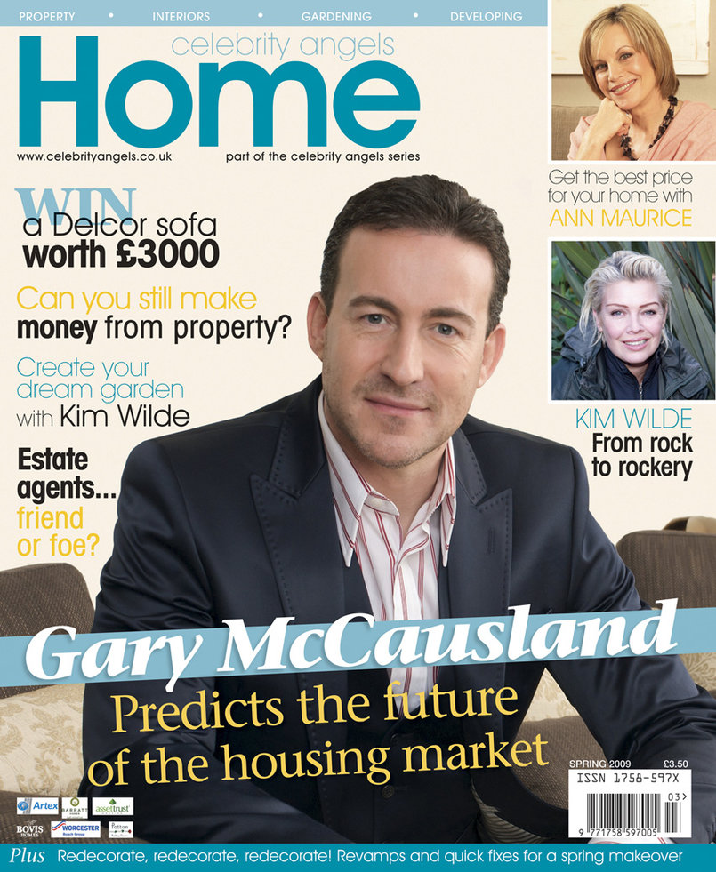 Home angels with Gary McCaisland magazine