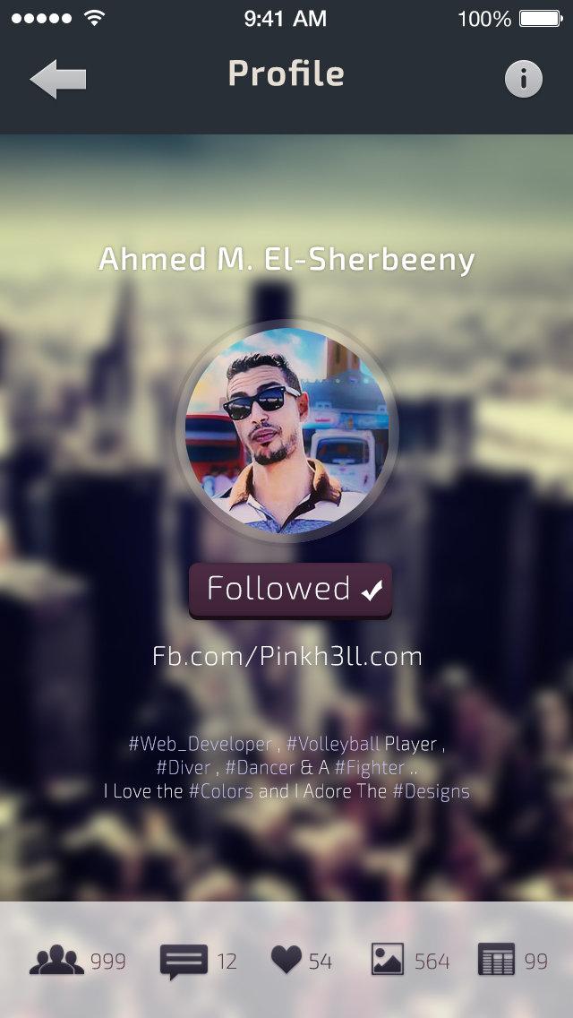 Profile Followed