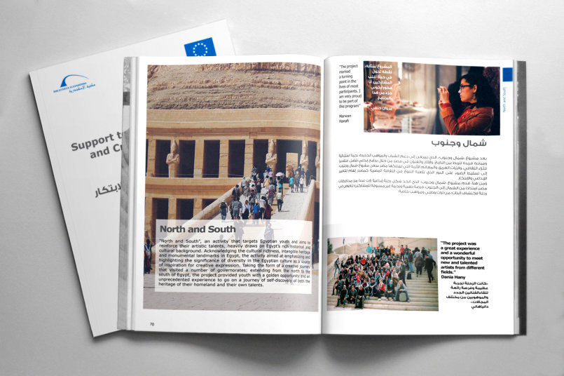 Support to Cultural Diversity and Creativity in Egypt Program - Layout