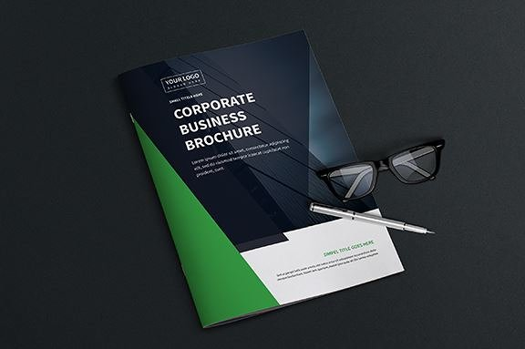 Corporate Company Profile Brochure 20 Pages