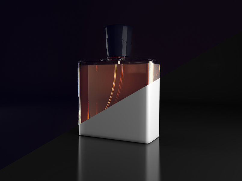 Perfume Bottle Test Render