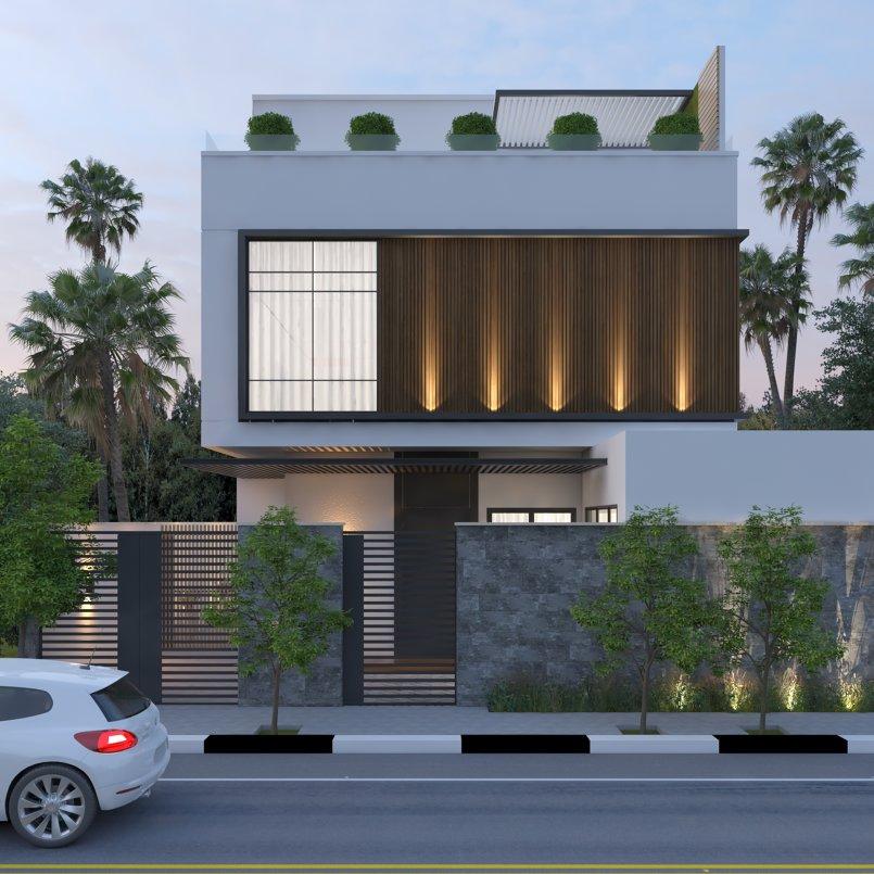 تصميم فيلا سكنية