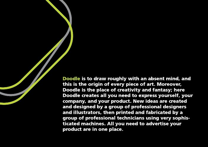 Doodle Adv. : What is doodle?