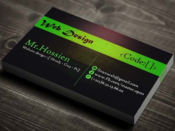 business card -Show