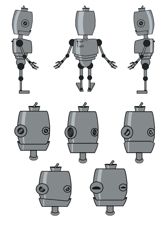 رسوم متحركة / تصميم شخصية كرتونية