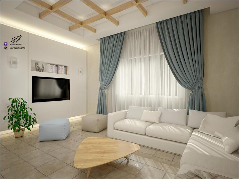 تصميم داخلي لشقة