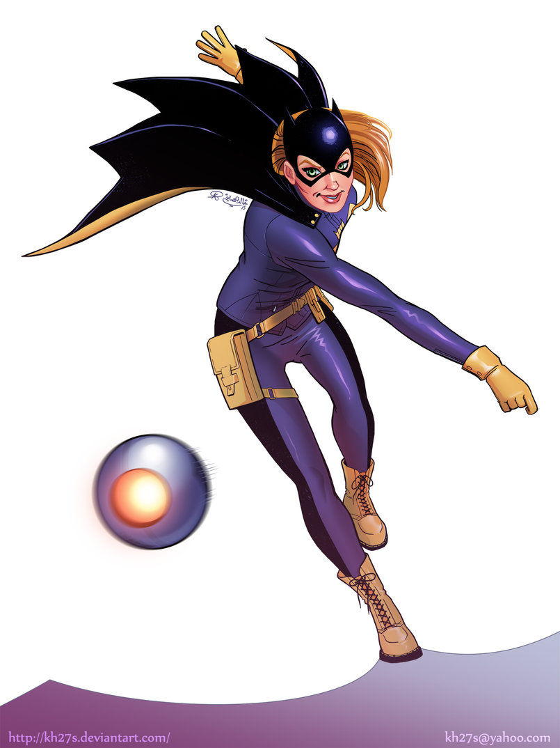 The New 52 Batgirl.