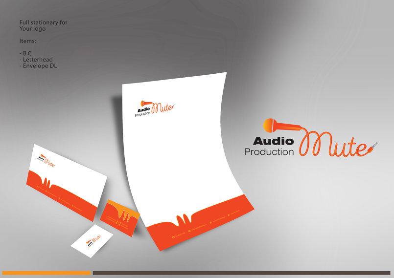 شعار والهوية مؤسسية لشركة ميوت للإنتاج الفني
