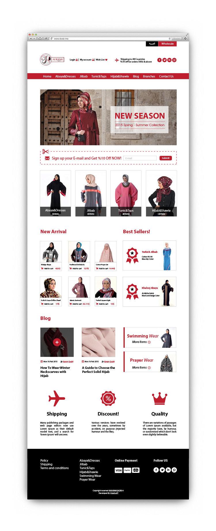 Alkaram Qadri | Website Design