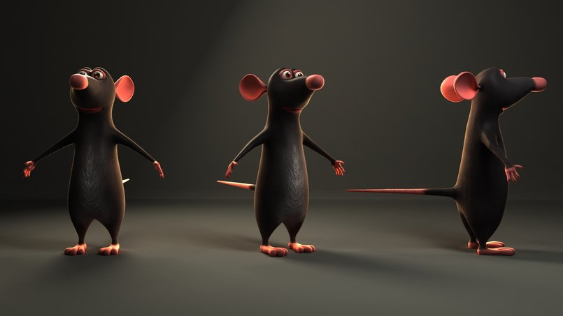 Ratatouille Render