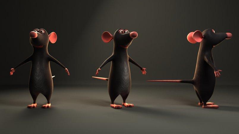 Ratatouille Render