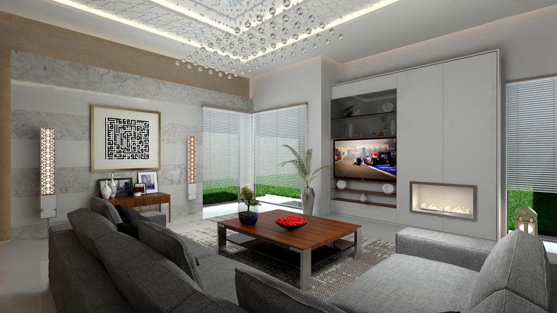 تصميم غرفة مجلس رجالي