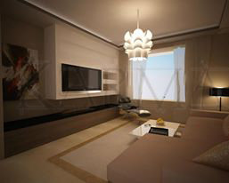 NEW WED APARTMENT DESIGN AND SUPERVISION IN 5TH CIRCLE AMMAN JORDAN