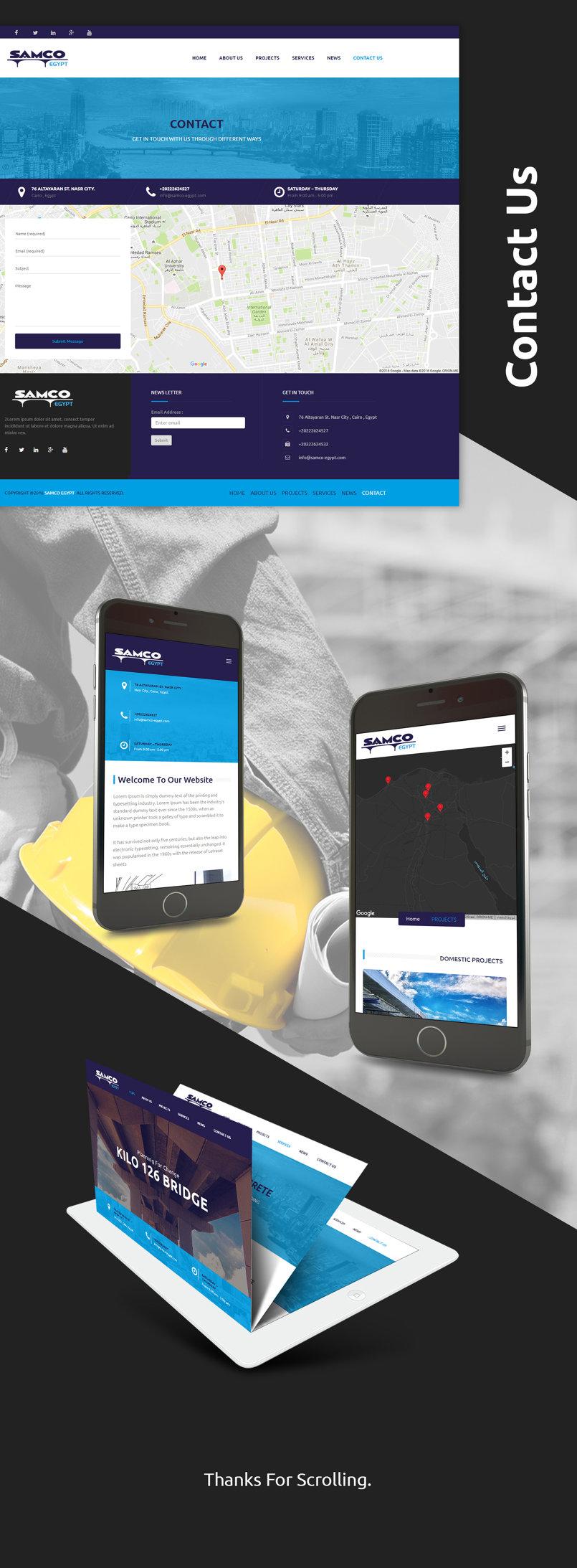 Samco Website
