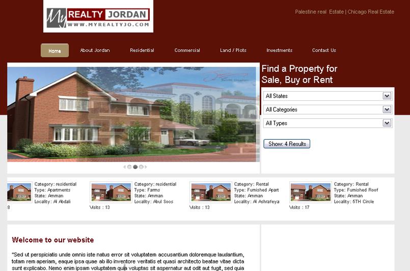 My Realty Jordan Website