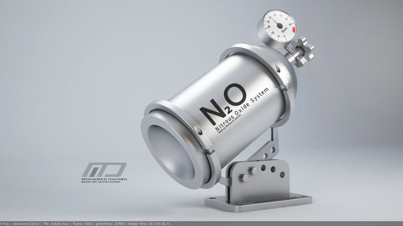 Nitrous Oxide System   3D Modeling