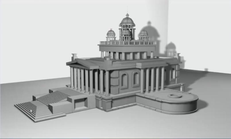 معبد روماني