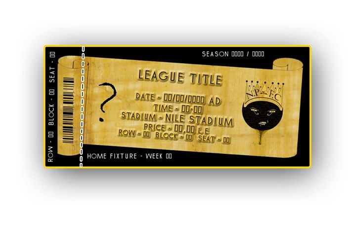 Match Ticket Design