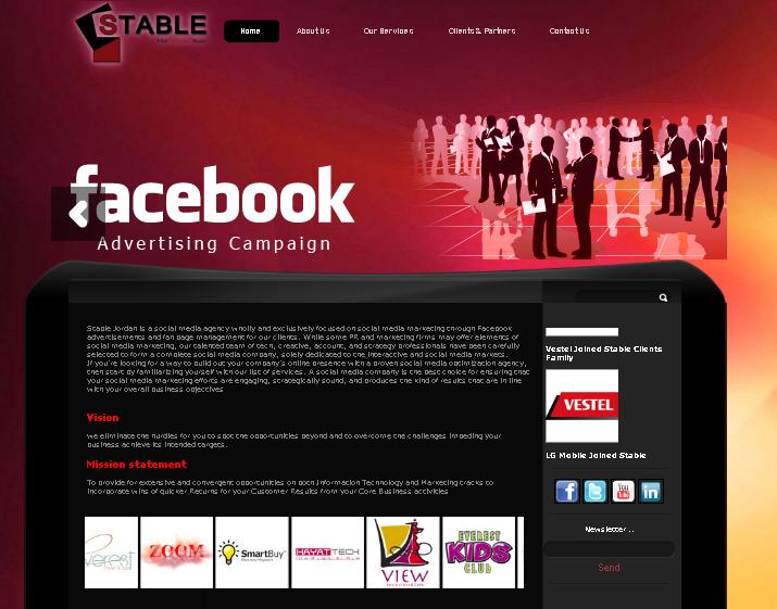Stable Jo Website