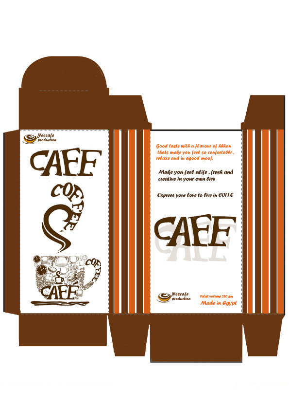 Coffe Pack in ONe Hour design