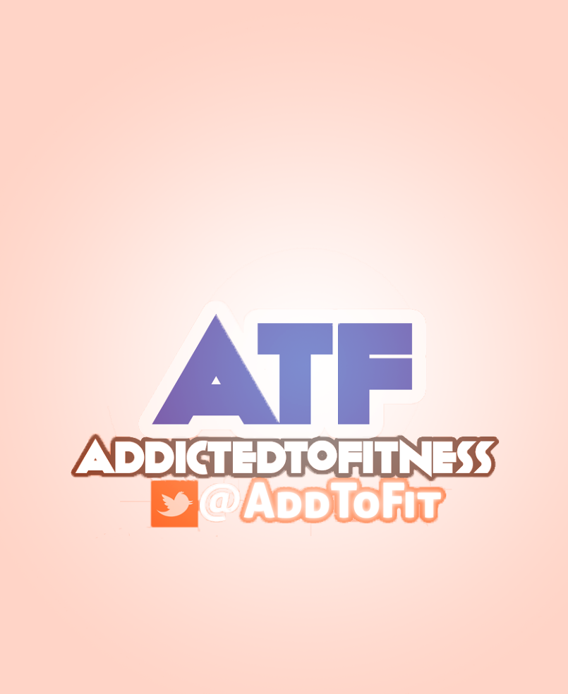 ADDICTED TO FITNESS Twitter LOGO