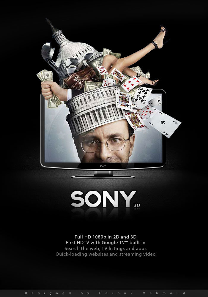 An idea for sony televison 3d