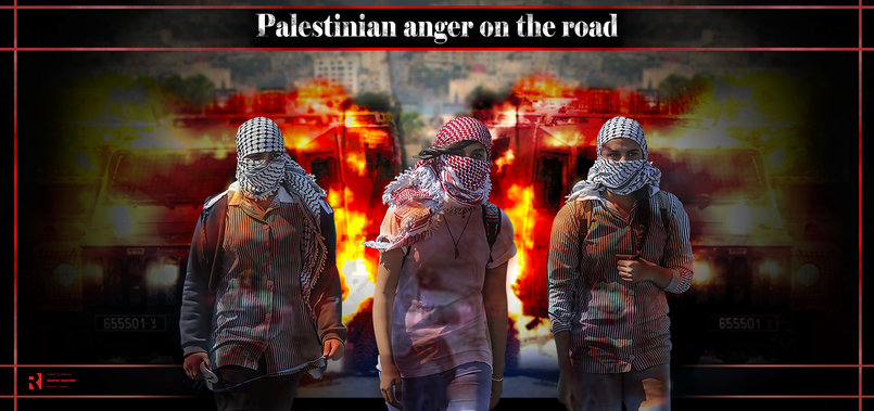 Palestinian anger on the road