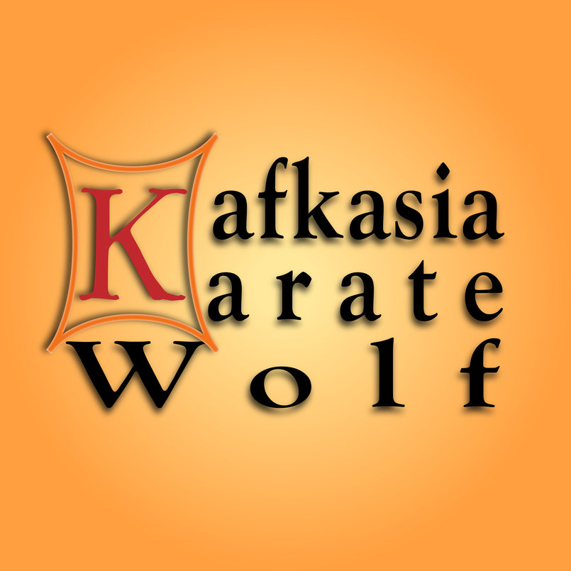 """شعار لمدرسة كاراتيه (وهمي) """"Logo for Karate School """"Imaginary"""