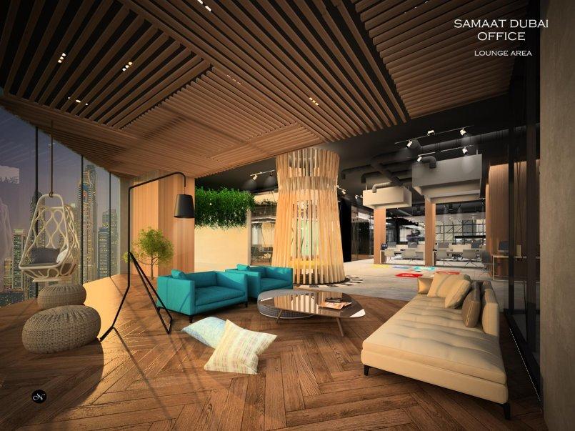 Samaat Dubai office interior design