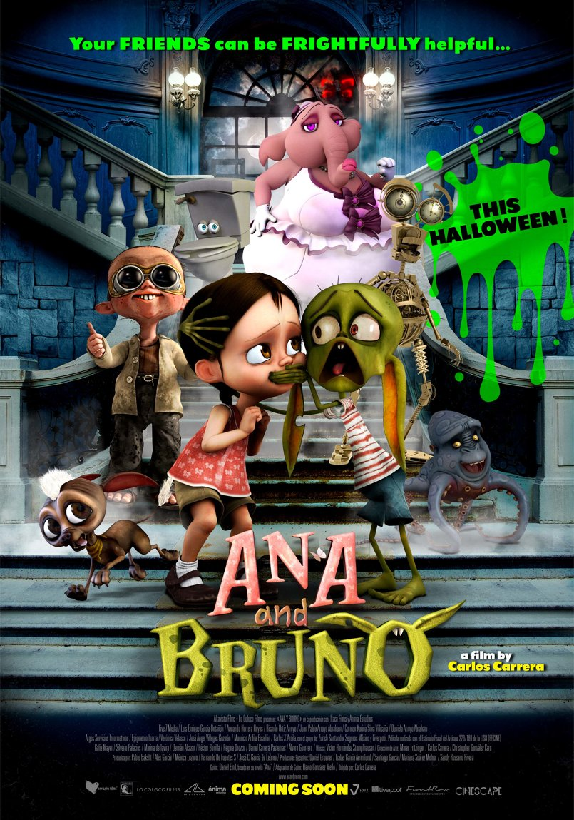 Ana and Bruno - Poster