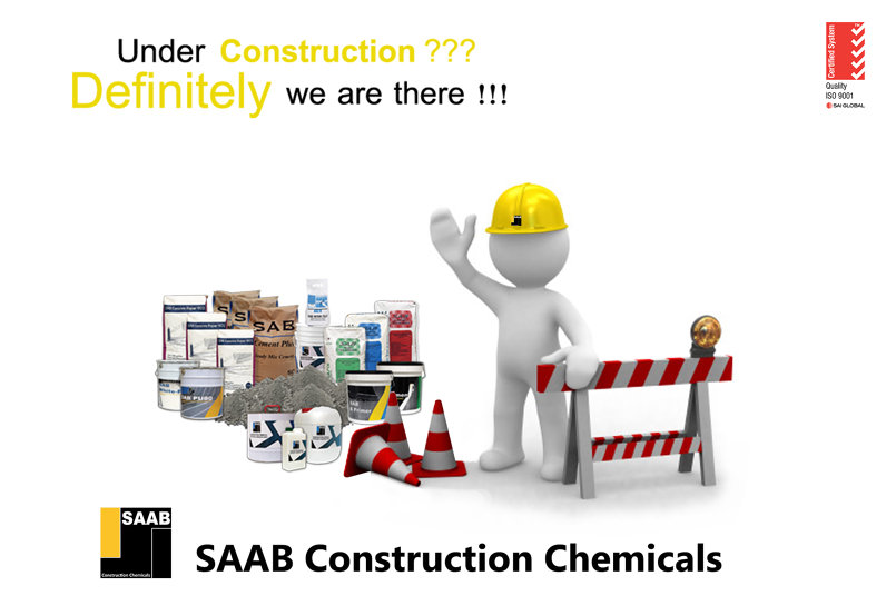 Construction Chemicals Company's Poster