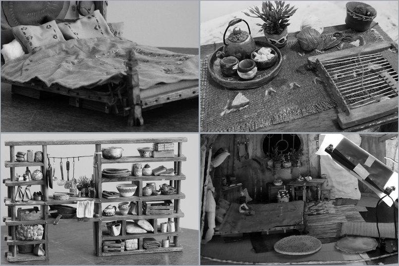 صورة كاملة عن الديكور خلال ألتصوير. Pictures of the set while photographing parts of the film.