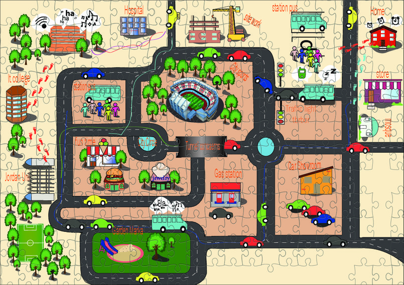 puzzl map