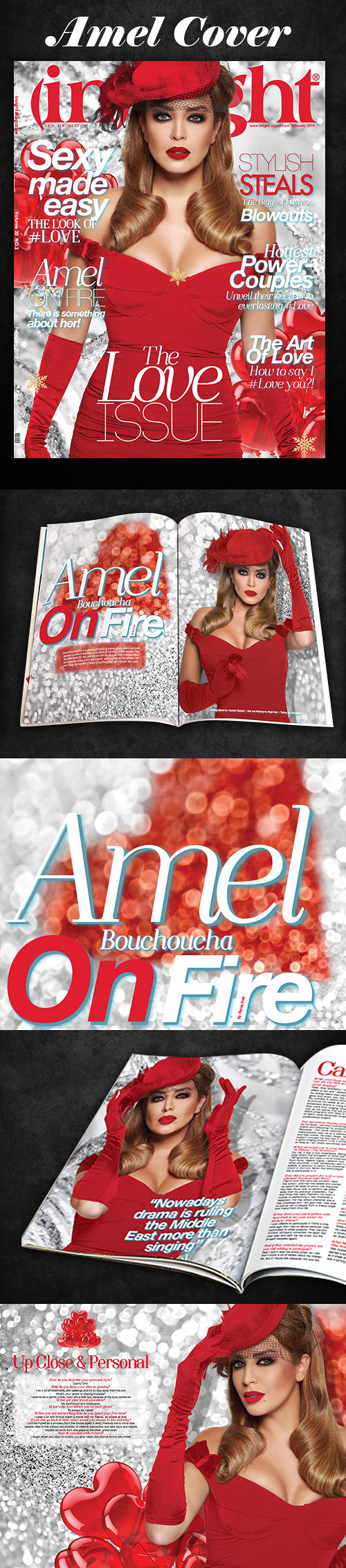 Amel Bouchoucha Cover Story